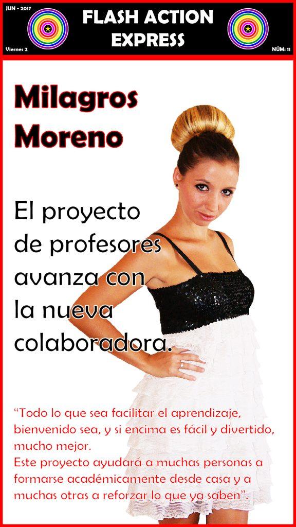 NÚMERO 11 - MILAGROS MORENO